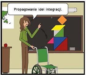 obrazek z napisem: integracja
