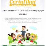 certyfikat szkoły łowców talentów 2012/2013