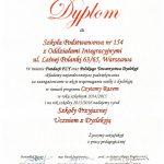 certyfikat szkoły przyjaznej uczniom z dysleksją