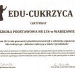 certyfikat edu-cukrzyca