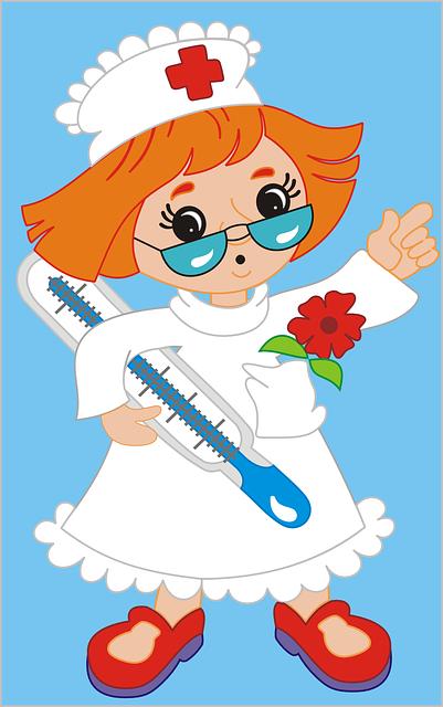 obrazek z pielęgniarką