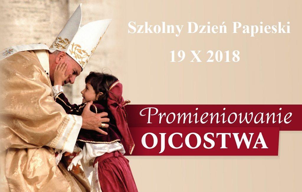 dzień papieski, zdjęcie św. Jana Pawła II i dziecka