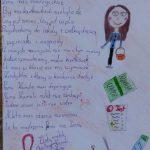 Praca konkursowa z wierszem o pani Kamili Kruszyńskiej – Kowalczyk, miejsce 2a