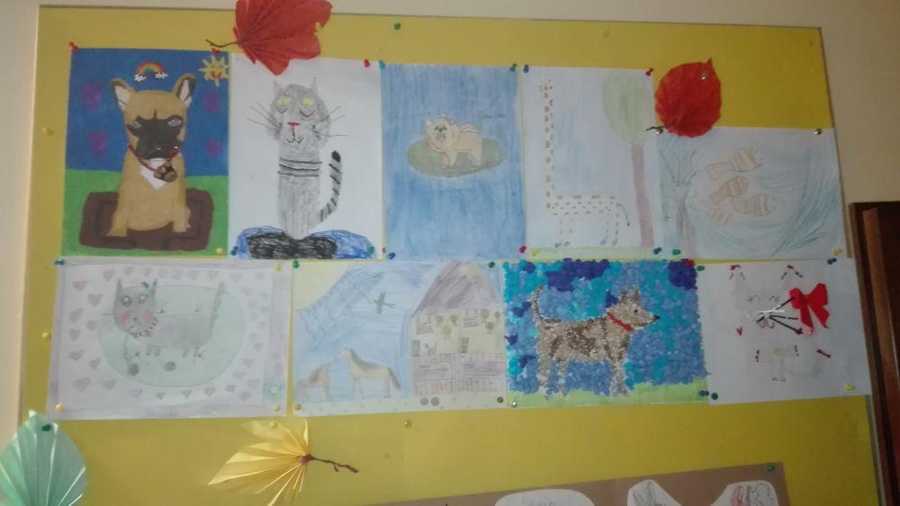 W konkursie brało udział wiele dzieci.