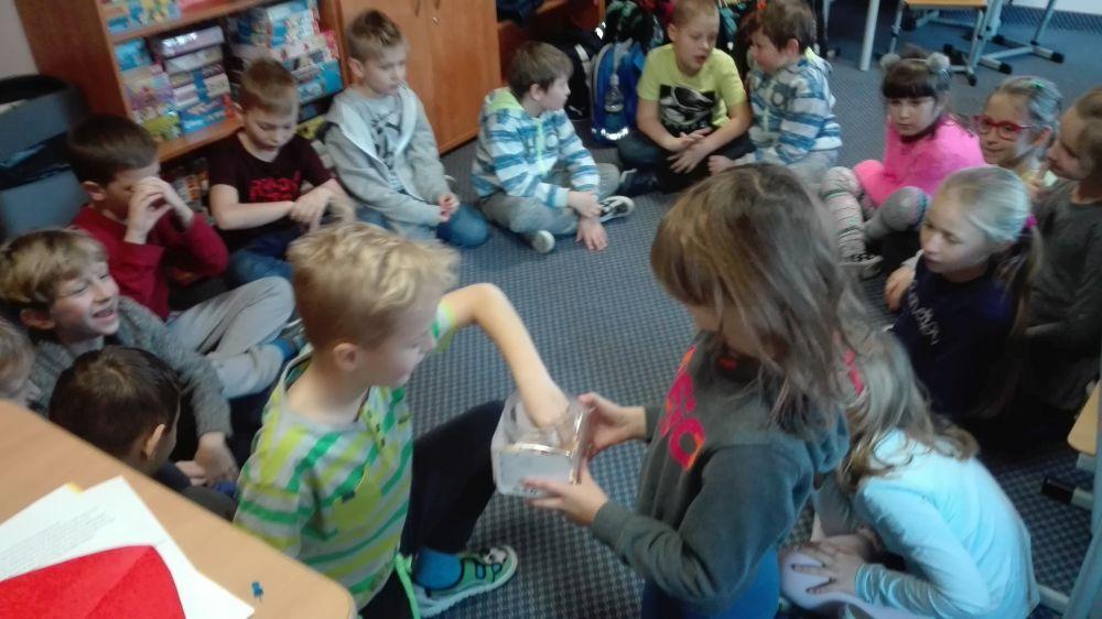Dzieci dowiedziały się też jaki mogą w przyszłości wykonywać zawód
