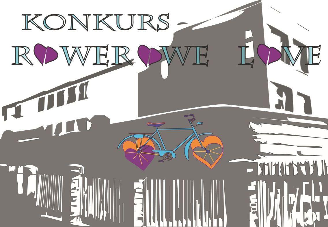 logo konkursu rowerowe love