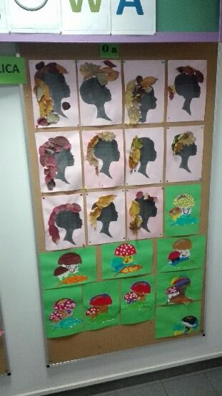 Prace przedstawiające grzyby wyklejane plasteliną