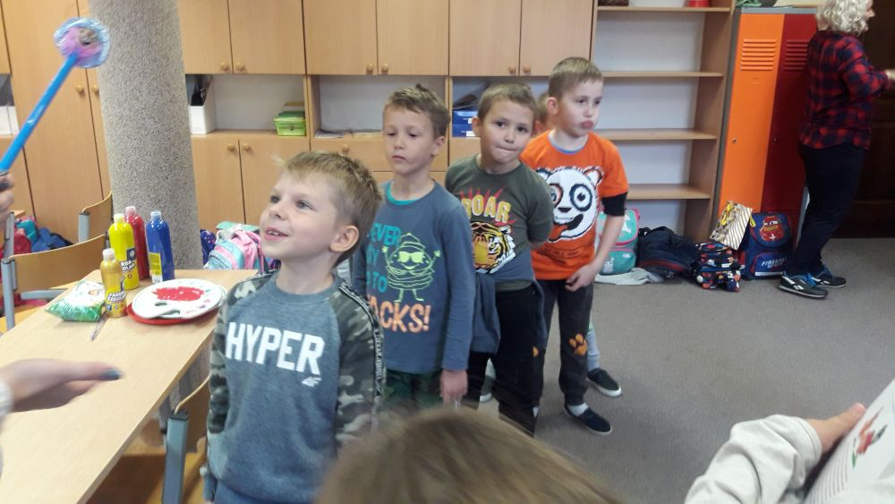 Pasowanie uczniów klas Ic i Id