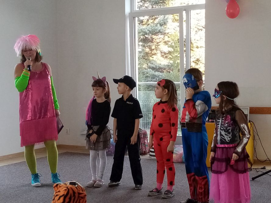 Dzieci uczestniczą w konkursach