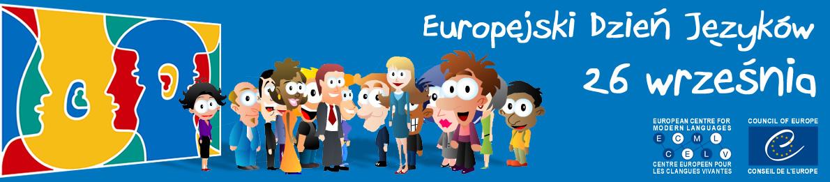 logo, baner - Europejski Dzień Języków, 26.09.2020