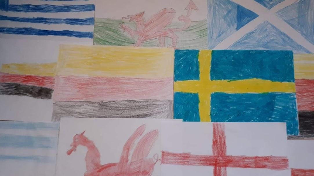 flagi europejskie