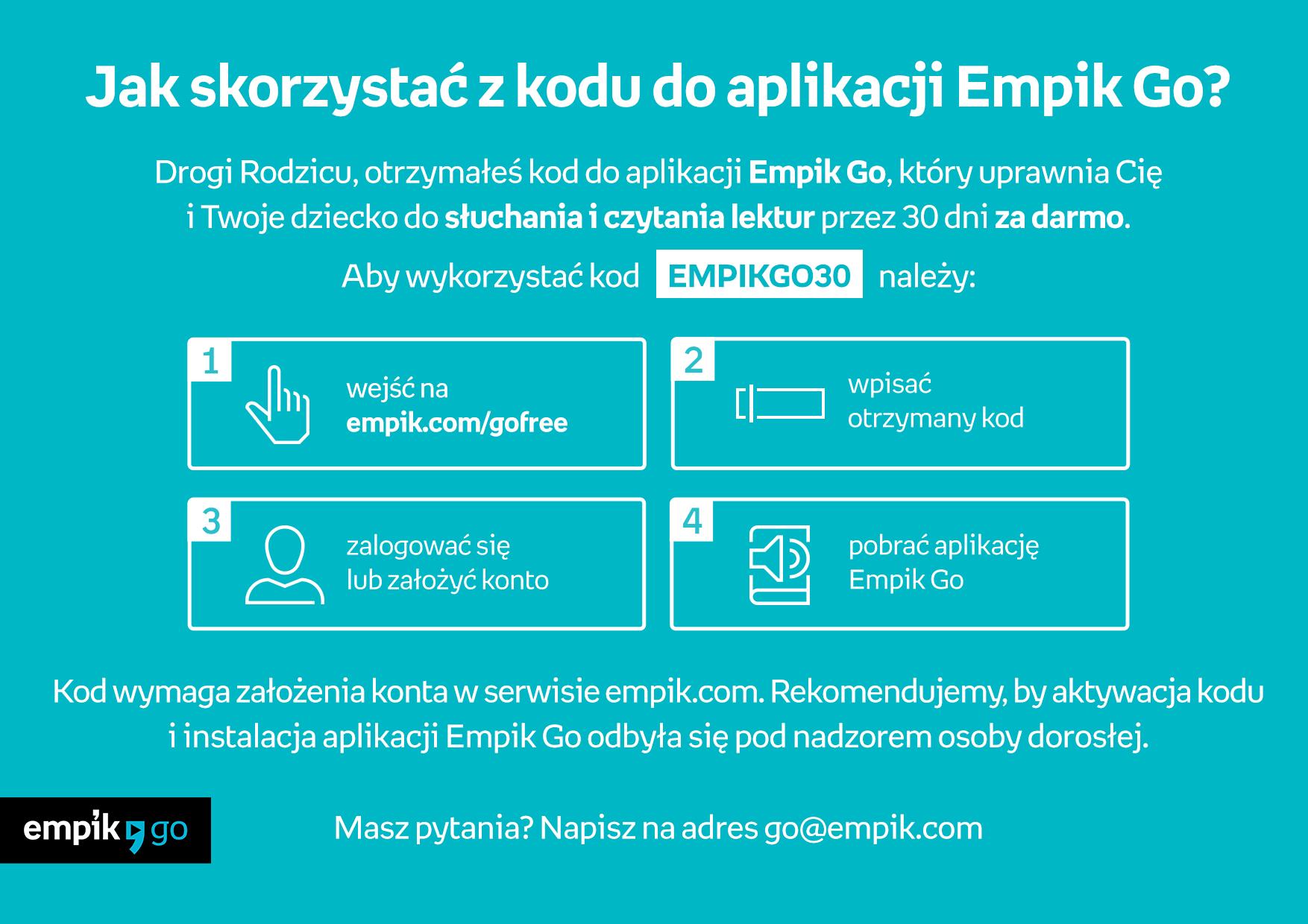 """Konkurs Empiku """"1000 powodów by czytać"""" - plakat"""