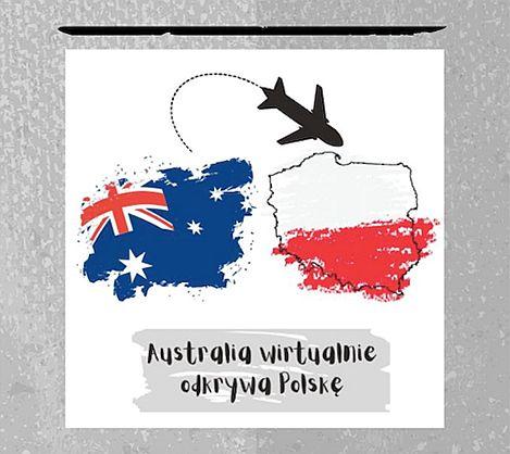 Australia wirtualnie odkrywa Polskę - plakat