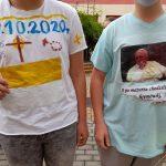 papieskie koszulki konkursowe