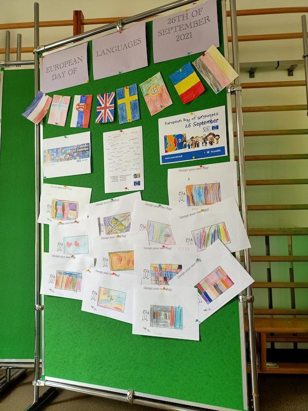 gazetka z okazji Europejskiego Dnia Języków