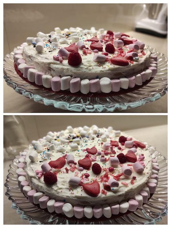 zdjęcie tortu, który wykonała Patrycja, która zajęła III miejsce w konkursie