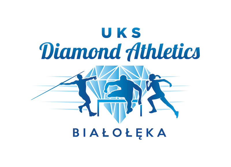 logo UKS Diamond Athletics Białołęka